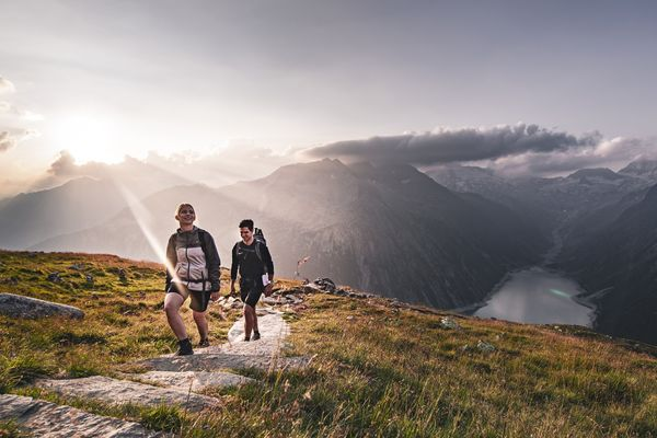 Wanderung zur Olpererhütte | © Dominic Ebenbichler / Archiv TVB Mayrhofen